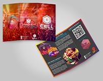 Criação de Identidade Visual - Cell Energy Drink