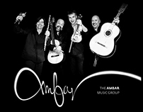 The Ambar music group CD cover designs