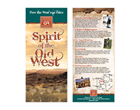 Grapevine Canyon Ranch Rack Card