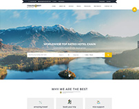 Travelport Property Booking PSD Template