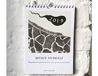 calendar SPIRIT ANIMALS 2019