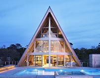 Stunning Fire Island A-Frame Cabin