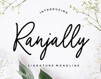 Ranjally Script Font