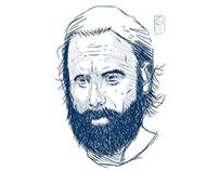 Rick Grimes   Finger Illustration