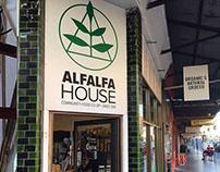 Alfalfa House - bespoke signage