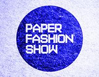 ADCD Paper Fashion Show Promo