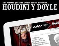 AXN Houdini y Doyle - Richmedia