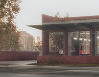 Competition Entry, Fire station, Oslo