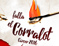 cartel FALLAS 2016