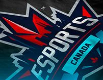 'eSports Canada' Logo