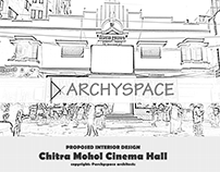 INTERIOR DESIGN FOR CHITRA MOHOL MOVIE THEATER AT DHAKA