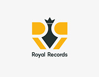 Brand Identity - Royal Records