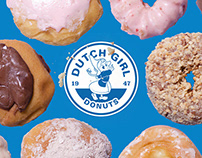 Dutch Girl Donuts Rebrand