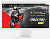 Hero Maestro Edge 125 Fi - Microsite