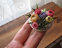 Miniature flowers .
