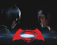 Batman X Superman - Website Concept