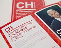 Claude Hêche - Campagne de promotion