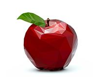 ...jast an apple...
