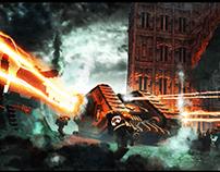 Warhammer Matte Painting