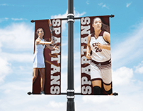 College Campus Banner Mockup