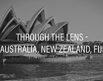 Through The Lens | Australia, New Zealand, & Fiji