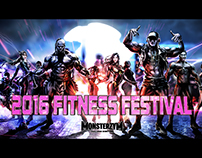 2016 monster zym fitness festival openning