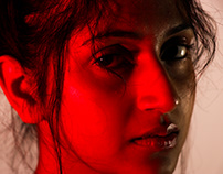 Red light/ Green Light- Portrait Photography