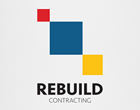 REBUILD Contracting UAE (RCU) Logo Design