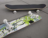 SNK Skate Deck
