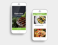 Daily UI | Clean Eats App