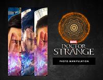Photo Manipulation : Dr Strange Inspiration Poster
