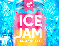Logo & keyvisual Ice jam