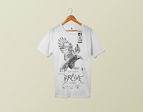 Wild & Free: Postcards and t-shirts