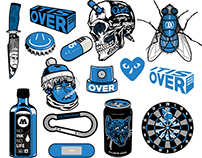 """IT'S OVER AGAIN"" Stickerpack VOL. 2"
