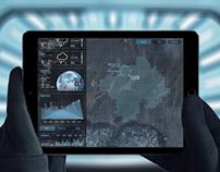 Weather sci-fi app