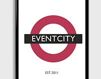 EventCity Poster Illustrations