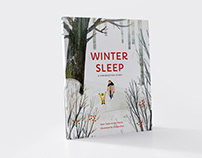 Winter Sleep children's book illustration