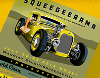 Squeegeerama 2016 Poster Project