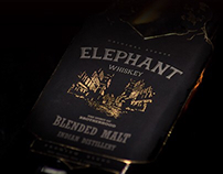 Elephant Whiskey Brand Identity & Packaging