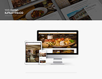 Il Filetto Web Site design
