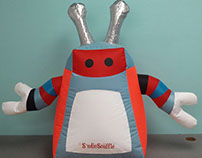 Robob - Remote controlled Inflatable robot