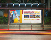 Construction Business Billboard Template Vol.5