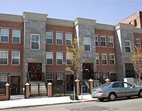 Newer real estate developments at the South Bronx