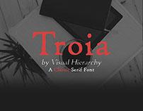 Troia Classic Serif Font Family