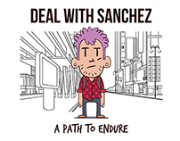 Deal With Sanchez - CD Cover Art