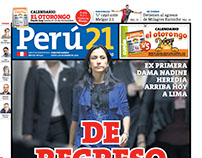 Portada Perú21