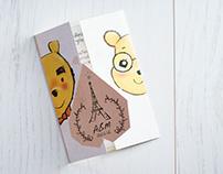 Wedding Card : Bears