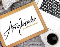 BRANDING: ANNA JAKACKA MAKEUP ARTIST
