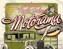 Rockin' Jalopy's Motorama - Event Posters 2010 - 2017
