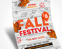 Fall Fest Flyer / Autumn Flyer